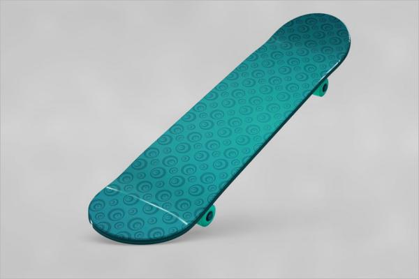 Classic Skateboard Mockup Design