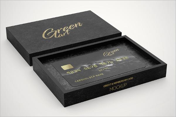 Clean Credit Card Mockup Template