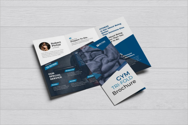 Clean GYM Brochure Design