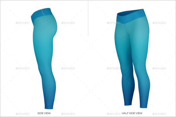 Clean Leggings Mockup Designs
