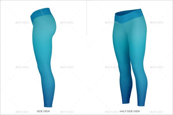 Clean Leggings Mockup Designs
