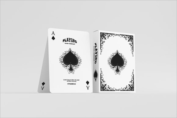 Clean Playing Card Design
