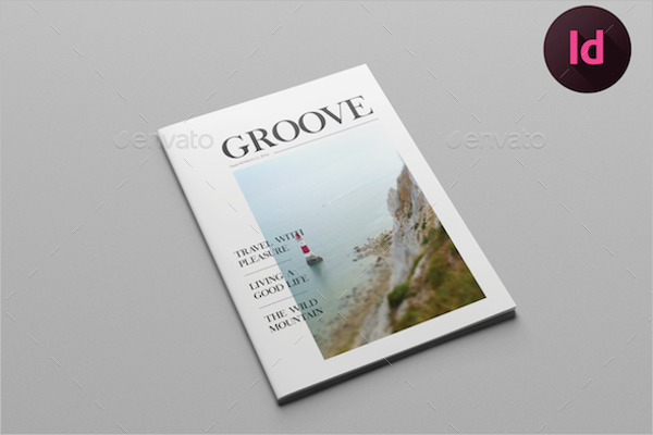 Clean & Simple Magazine Template