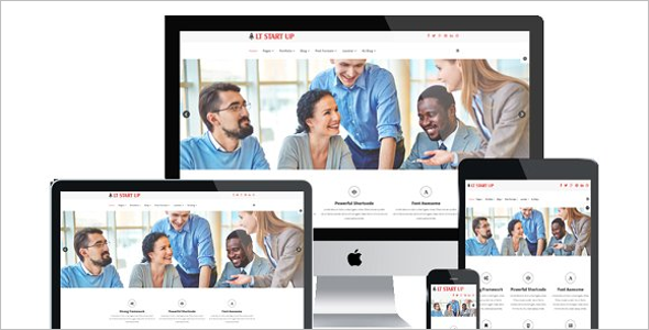 Clean WordPress Theme for Startup