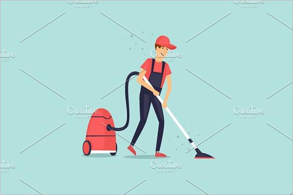 Cleaning Company Uniform Design
