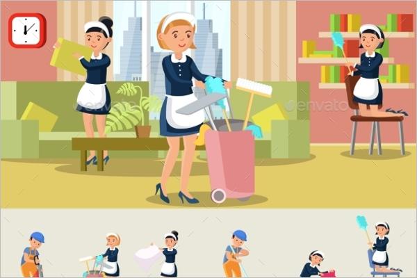Cleaning Uniform Concept