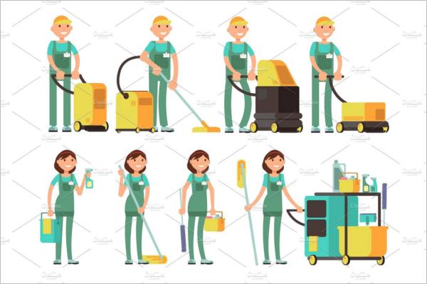 Cleaning Uniform Design