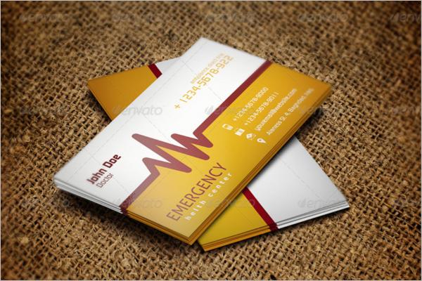 Clinic Hospital Business Card