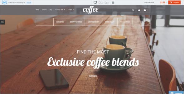 Coffee House PrestaShop Theme