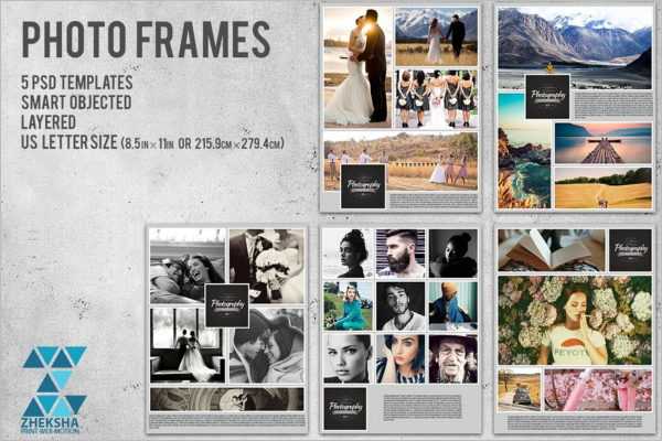 Collage Style Photo Frame Design