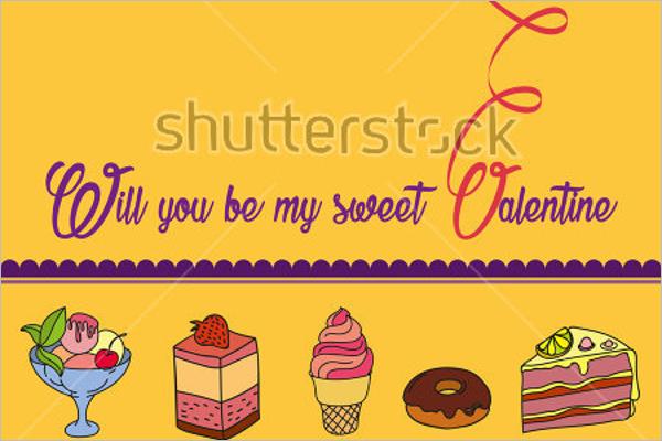 Colorful Ice Cream Marketing Post Card