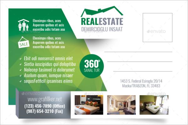 Commercial Real Estate Postcard