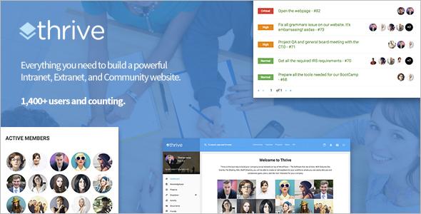 Community WordPress Template