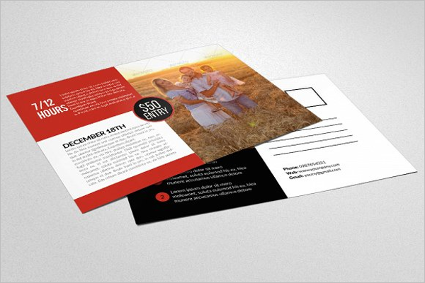 Company Security Postcard Template