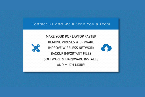 Computer repair business card templates free premium free computer circuit business card colourmoves