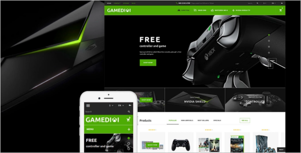 Computer Games PrestaShop Theme