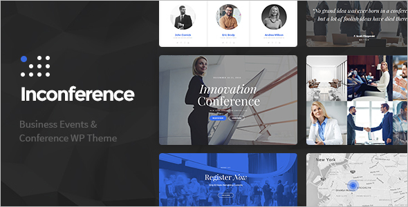Conference Business Event WordPress Theme