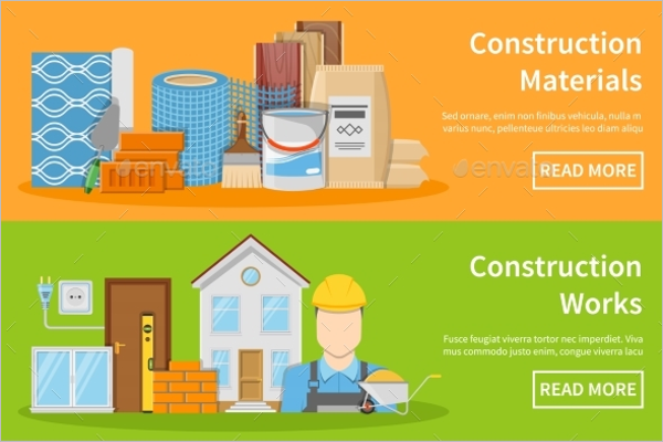Construction Banner Design