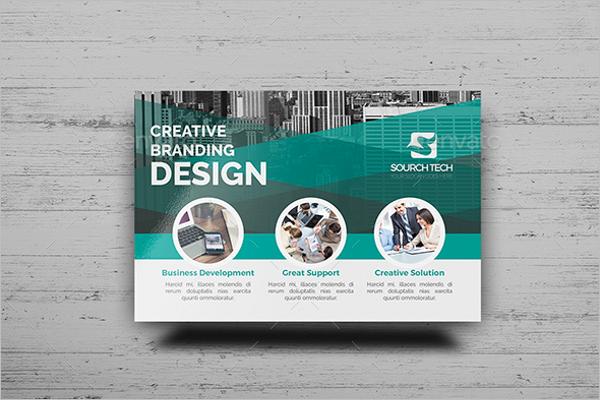 Construction Business Postcard Branding
