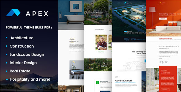Construction Design WordPress Theme