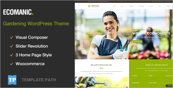 Corpoprate WordPress Agriculture theme