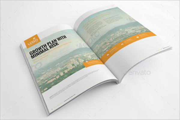 Corporate Brochure Print Template