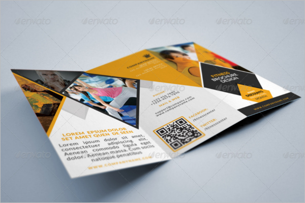 Corporate GYM Brochure Design