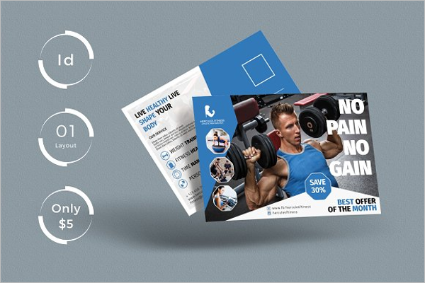 Corporate Gym Business Card