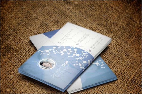 Corporate Hospital Business Card