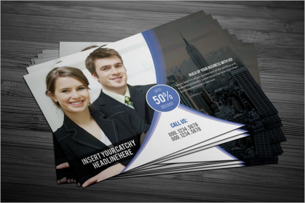 Corporate Security Post Card Template