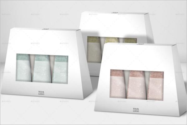 Cosmetic Gift BoxMockup