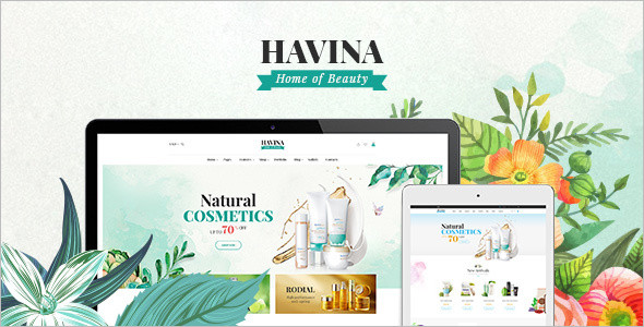 Cosmetic Store PrestaShop Theme