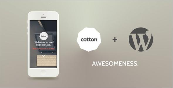 Cotton WordPress Theme