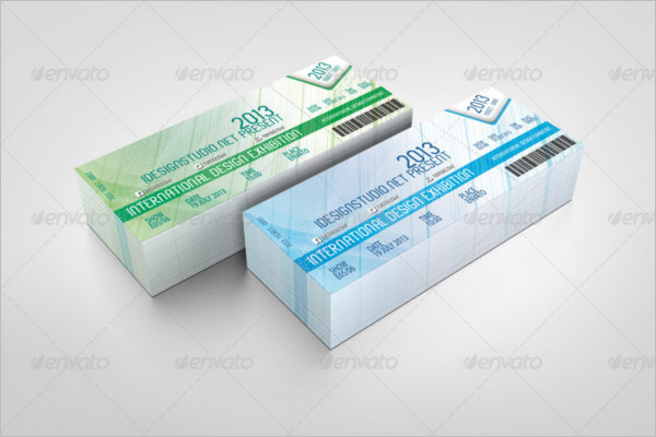 Coupon Ticket Mockup Template