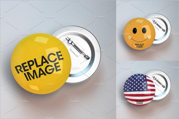 Creative Badge Mockup Template