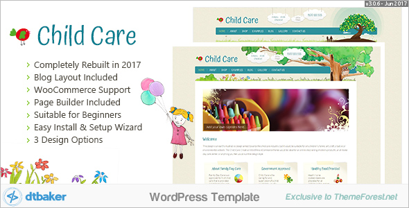 Creative Child WordPress Theme