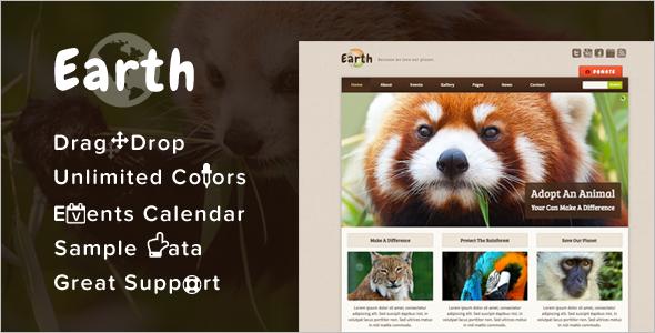 Creative Environmental WordPress Theme