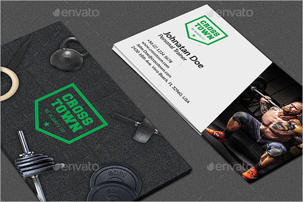 Creative Fitness Business Card