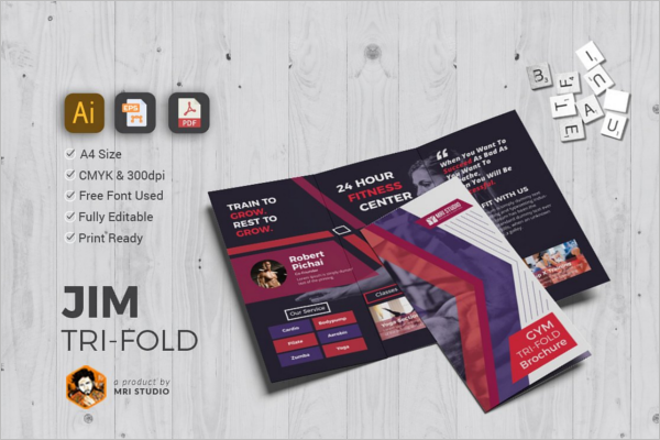 Creative GYM Brochure