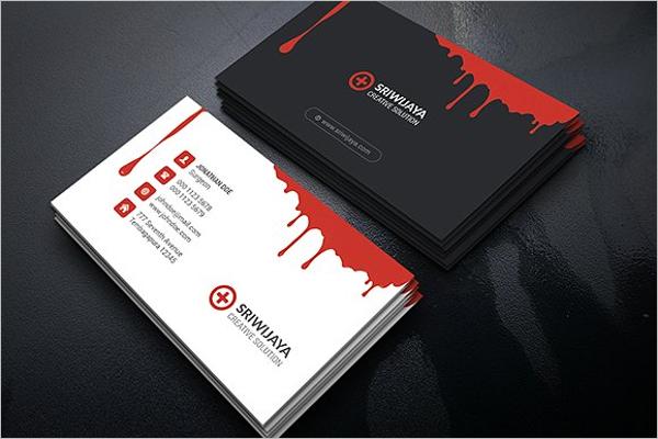 Creative Hospital Card Template