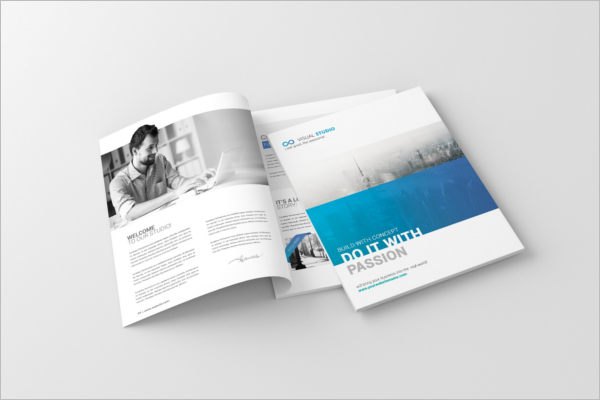 Creative Letter Magazine Template