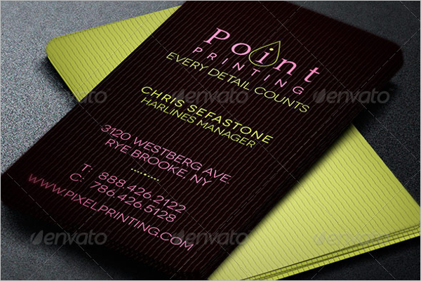 Creative Printer Business Card Template