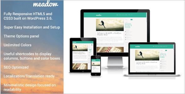 Creative multimedia wordpress theme