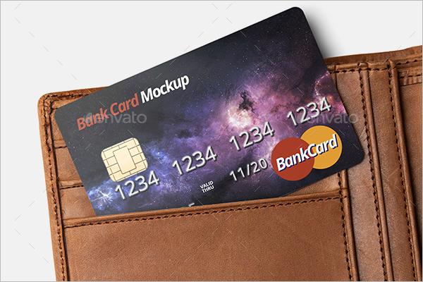 Credit Card Bank Mockup Template