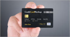 39+ Credit Card Mockup PSD Templates