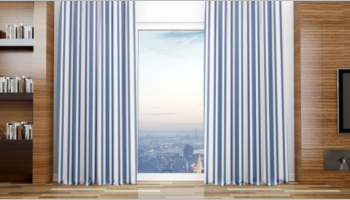 Curtain Mockup Templates