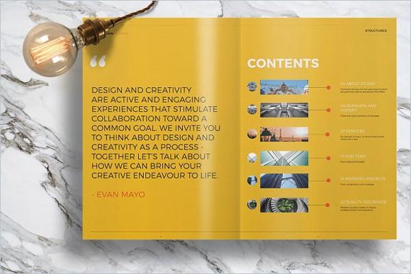 Custamizable Brochure Template