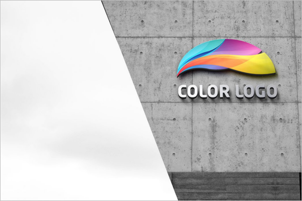 Customizable 3D Wall Logo