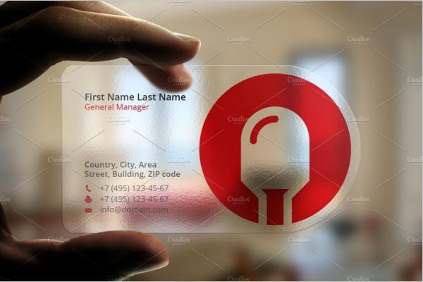 Customizable Electric Business Card