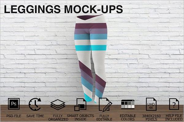 Customizable Leggings Mockups